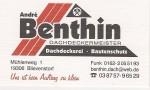Dachdeckermeister Andrè Benthin